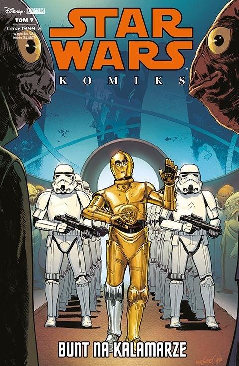 Star Wars Komiks - Bunt na Kalamarze 1/2020 Kieron Gillen; Salvador Larroca