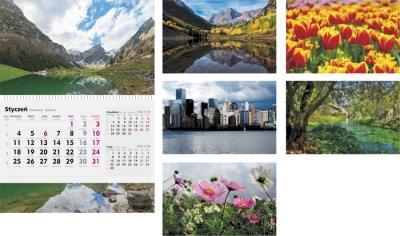 Kalendarz 2017 Jednodzielny MIX