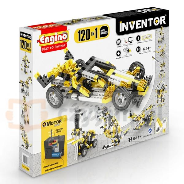 ENGINO Inventor 120 models motorized set (12030)