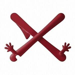 Hand stand uchwyt na ksiązki/tablet czerwony