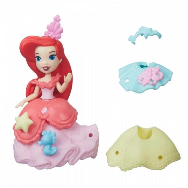 Disney Princess Mini Laleczka z sukienką Ariel