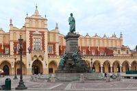 Kartka 3D Kraków, Rynek-Pomnik Adama Mickiewicza