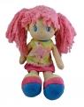 Lalka Marta różowa 35 cm  (4443)