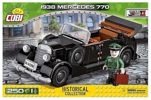 HC WWII 1938 Mercedes 770