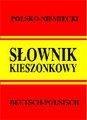 Słownik kieszonkowy niemiecko - polski