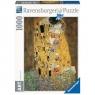 Puzzle 1000: Gustav Klimt - Pocałunek (157433)