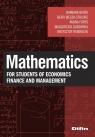 Mathematics for students of economics, finance and management Barbara Batóg Beata Bieszk-Stolorz Iwona Foryś Małgorzata Guzowska Krzysztof Heberlein