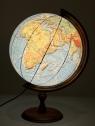 Globus fizyczny podświetlany 3D 320 mm