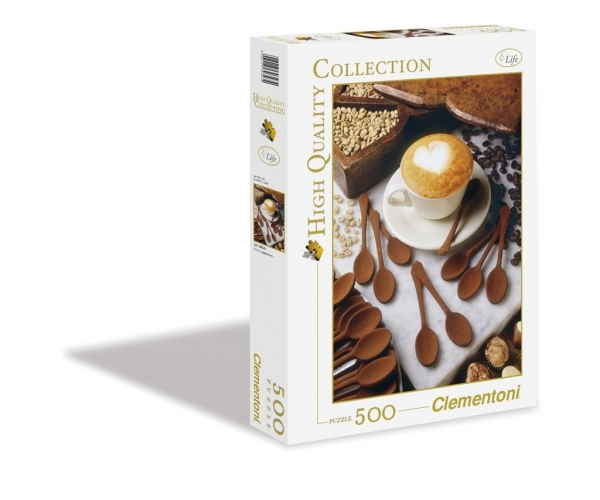 Puzzle High Quality I love cappuccino 500 	 (30343)