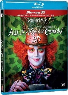 Alicja w Krainie Czarów 3-D (2 Blu-ray)
