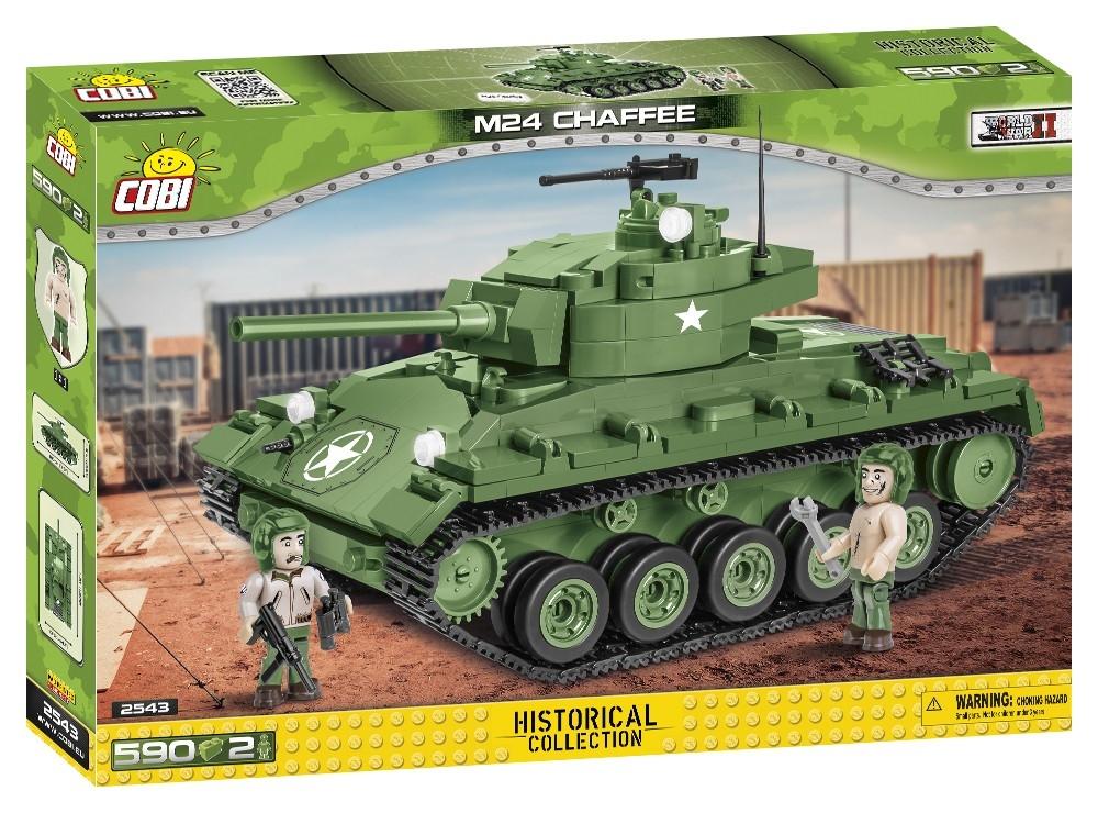 Cobi: Historical Collection. World War II - M24 Chaffee (2543)