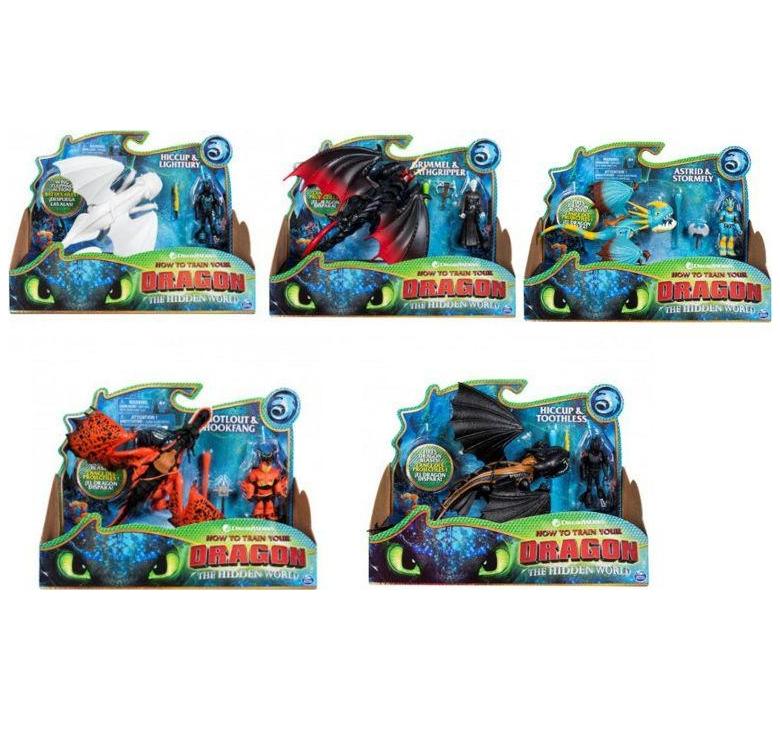 Dragons: Smok z wikingiem wzory