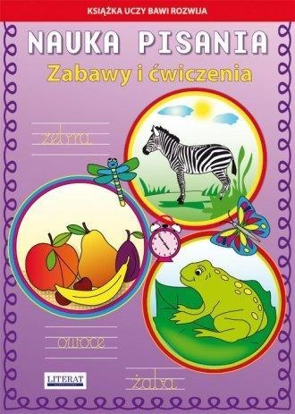 Nauka pisania Zabawy i ćwiczenia Zebra Guzowska Beata, Kojtka Katarzyna