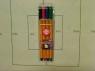 Cienkopis Rystor RC-04  (403-012) kpl 4 sztuki