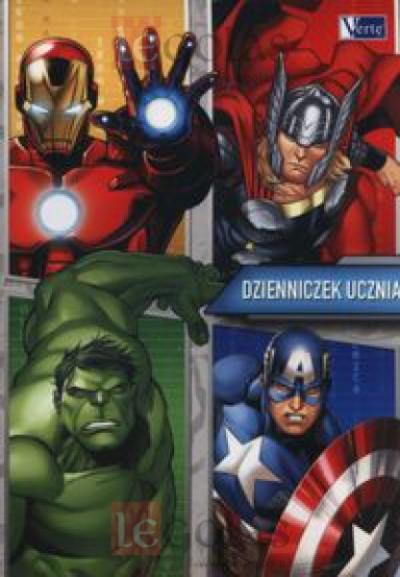 Dzienniczek ucznia Avengers .
