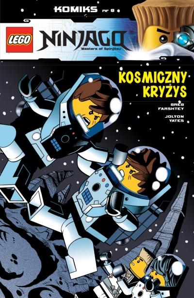 LEGO Ninjago - Kosmiczny kryzys Greg Farshtey, Jolyon Yates