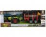 Traktor z przyczepą dźwiękiem i światłem (112435)