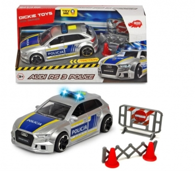 SOS Policja Audi RS3 15cm