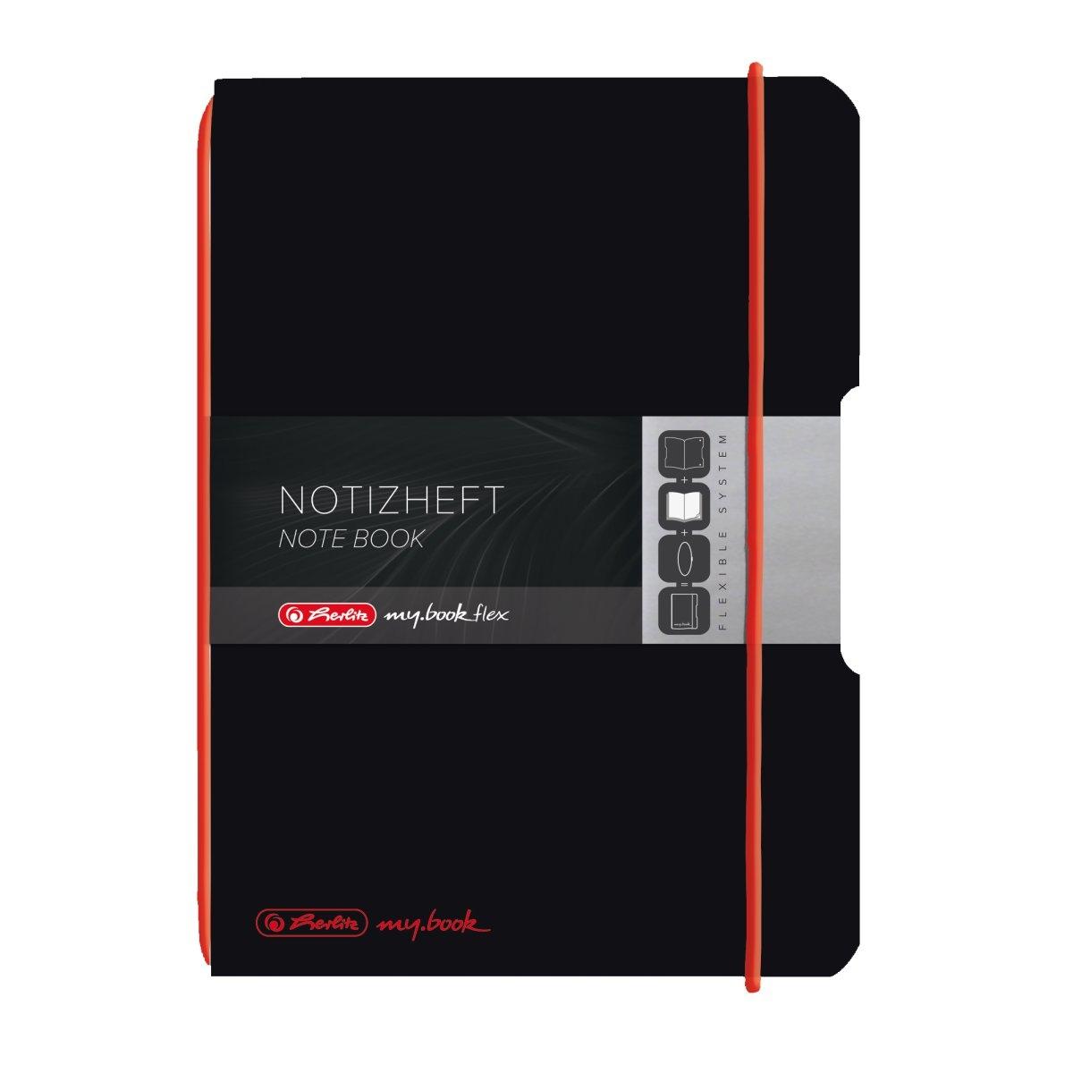 Notatnik my.book Flex A6/40k kratka - czarny (11361599)