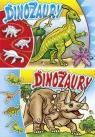 Kolorowanka Dinozaury A4 mix wzorów