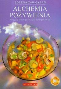 Alchemia pożywienia z płytą DVD Żak-Cyran Bożena