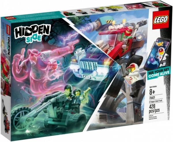 Lego Hidden Side: Samochód kaskaderski El Fuego (70421)