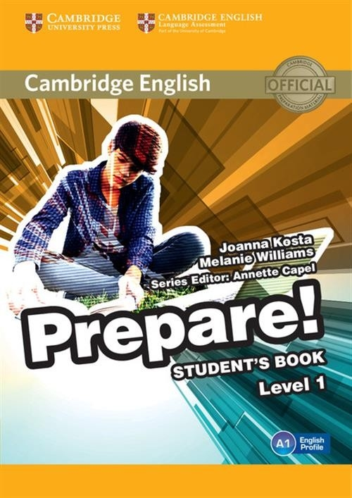 Cambridge English Prepare! 1 Student's Book Kosta Joanna, Williams Melanie