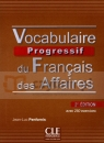 Vocabulaire progressif des Affaires + CD