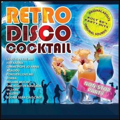 Retro Disco Cocktail CD