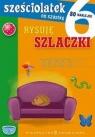 Sześciolatek na szóstkę Rysuję szlaczki 80 naklejek Cholewińska-Szkolik Aniela