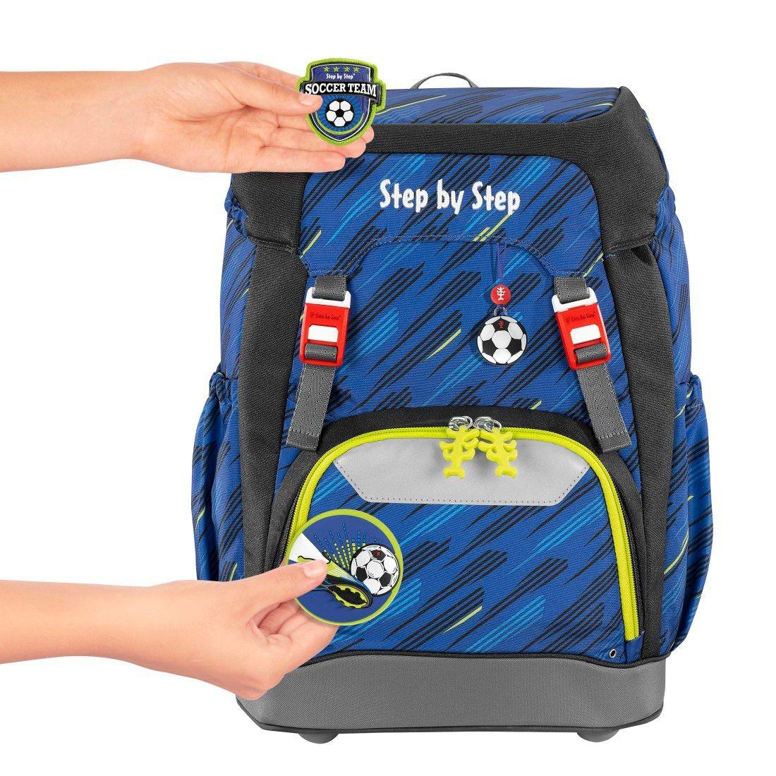 Step by Step, Plecak szkolny Grade set 5 - Soccer Team (129659)