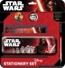 Zestaw szkolny 5 elementów z piórnikiem Star Wars