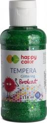 Farba Tempera brokatowa 118ml - zielony (431625)