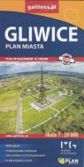 Gliwice plan miasta 1:20 000