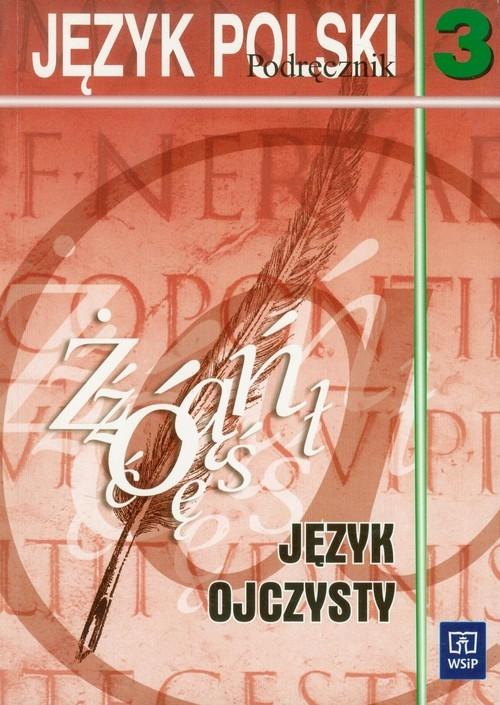 Język ojczysty 3 podręcznik Orłowa Krystyna, Synowiec Helena