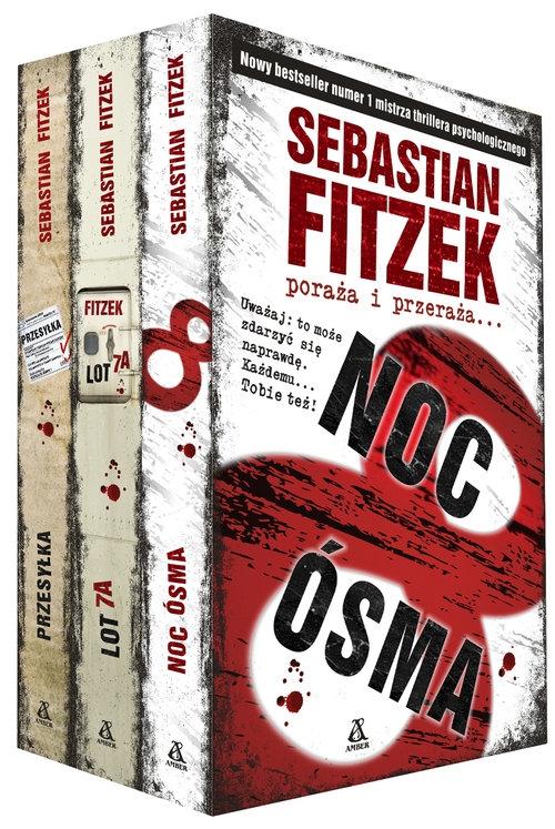 Noc Ósma/ Lot 7A/ Przesyłka Fitzek Sebastian