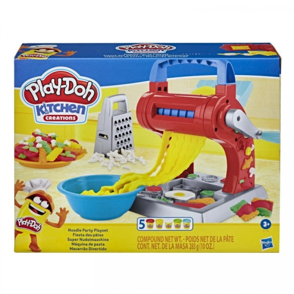 Zestaw z masą plastyczną PlayDoh Makaronowe szaleństwo (E7776)
