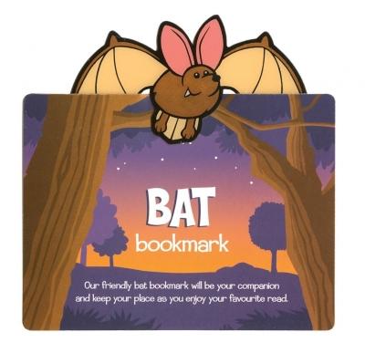 Zwierzęca zakładka do książki - Bat - Nietoperz