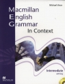 Macmillan English Grammar in Context Intermediate with key + CD Vince Michael
