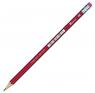 Ołówek techniczny Titanum 2B z gumką (83724)