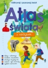 Atlas świata z naklejkami praca zbiorowa