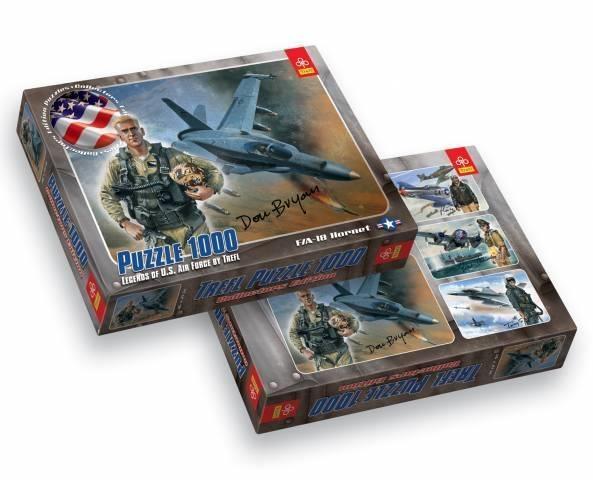 Puzzle 1000 elementów F/A - 18 Hornet (10243)