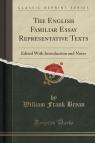 The English Familiar Essay Representative Texts