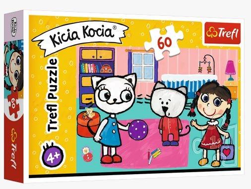 Puzzle 60: Kicia Kocia z przyjaciółmi