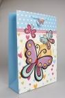 Torebka Ozdobna 3D Średnia Motylki