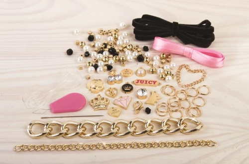 Make it Real Zestaw do tworzenia bransoletek Juicy Couture Chains & Charms