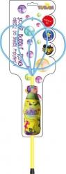Obręcz do baniek mydlanych (Pro Multi Motylek) + Płyn 250 ml (3643)