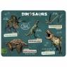 Podkładka laminowana dinozaur