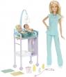 Lalka Barbie Zestaw lekarza (DHB63/DVG10)