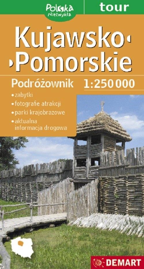 Kujawsko-Pomorskie Podróżownik mapa samochodowa 1:250 000
